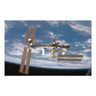 The International Space Station 10 Photo Print