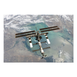 The International Space Station 11 Photo Print