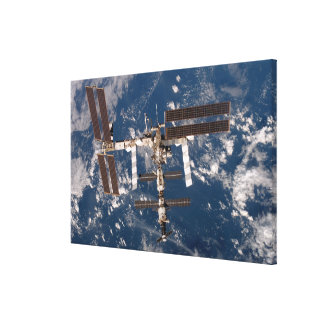 The International Space Station 15 Canvas Print