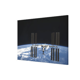 The International Space Station 18 Gallery Wrapped Canvas