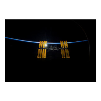 The International Space Station 2009 Poster