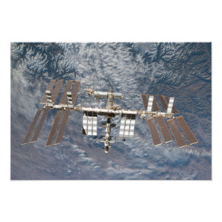 The International Space Station 9 Photo Print