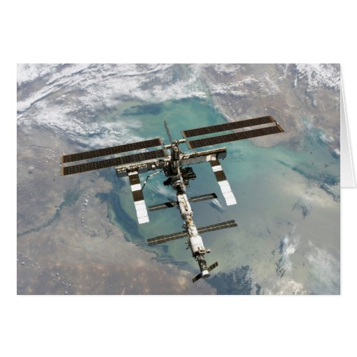 The International Space Station Cards