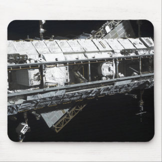 The International Space Station's starboard tru Mouse Pad
