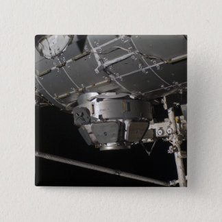 The International Space Station's Tranquility n 15 Cm Square Badge