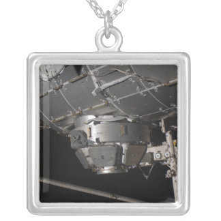 The International Space Station's Tranquility n Silver Plated Necklace