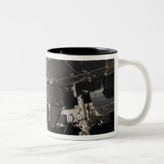 The International Space Station's Tranquility n Two-Tone Coffee Mug