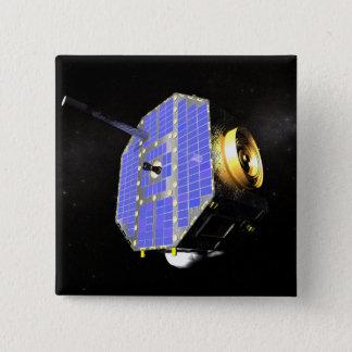 The Interstellar Boundary Explorer satellite 15 Cm Square Badge