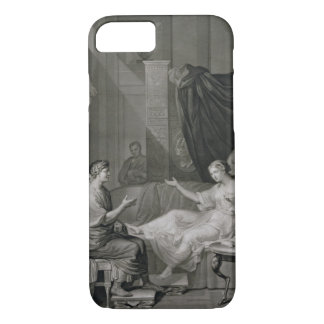 The Interview of Augustus and Cleopatra, engraved iPhone 8/7 Case