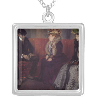 The Introduction, 1902 Silver Plated Necklace