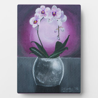 The Intuitive Orchid Plaque & Easel