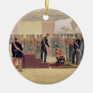 The Investiture of the Order of the Bath, plate fr Christmas Ornament