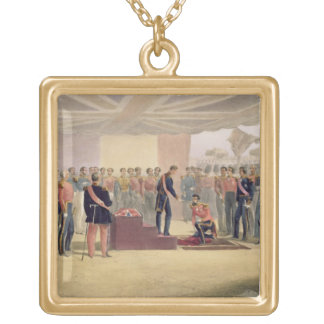 The Investiture of the Order of the Bath, plate fr Gold Plated Necklace