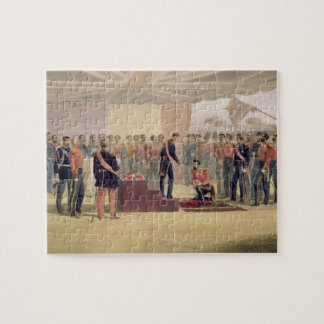 The Investiture of the Order of the Bath, plate fr Jigsaw Puzzle