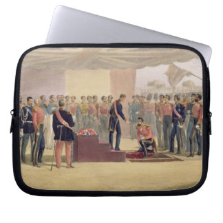 The Investiture of the Order of the Bath, plate fr Laptop Sleeve