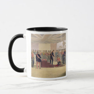 The Investiture of the Order of the Bath, plate fr Mug