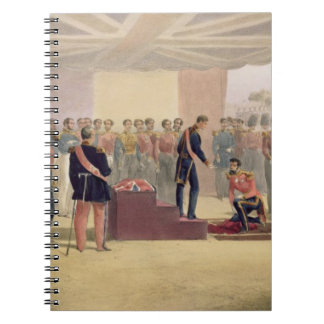 The Investiture of the Order of the Bath, plate fr Spiral Notebook