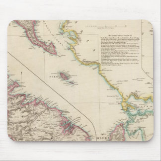 The Ionian Islands and Malta Mouse Mat