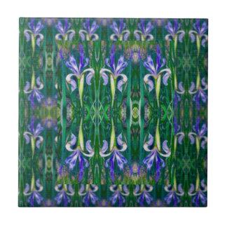 The Iris Fields Tile