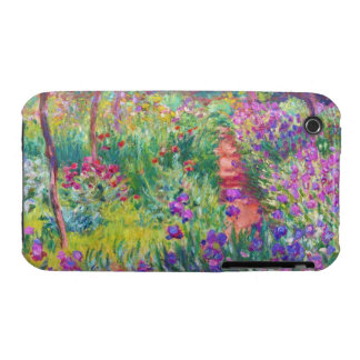 The Iris Garden at Giverny Claude Monet cool, old, iPhone 3 Case-Mate Cases