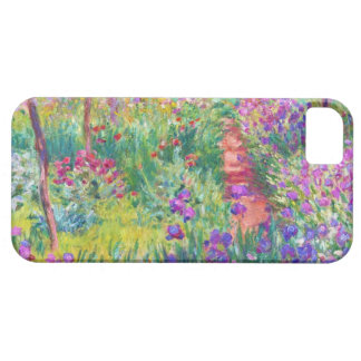 The Iris Garden at Giverny Claude Monet cool, old, iPhone 5 Cases