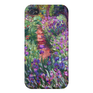 The Iris Garden at Giverny, Claude Monet iPhone 4/4S Covers