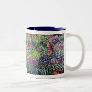 The Iris Garden at Giverny, Claude Monet Mug