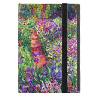 The Iris Garden by Claude Monet Cover For iPad Mini