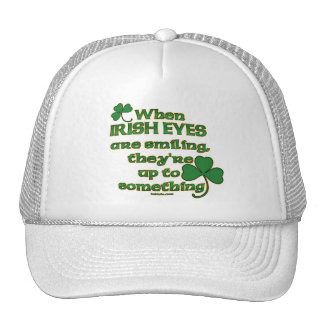 The Irish Eyes Joke funny Irish hats