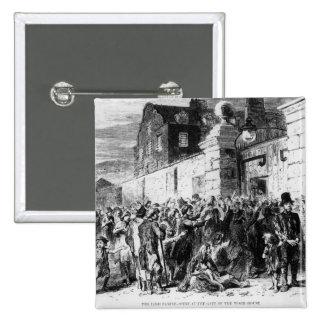The Irish Famine 15 Cm Square Badge