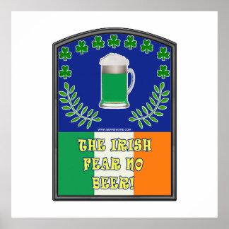 The Irish Feer No Beer Print