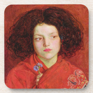The Irish Girl, 1860 (oil on canvas laid down on b Beverage Coasters