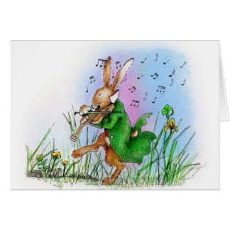 THE IRISH HARE CARD