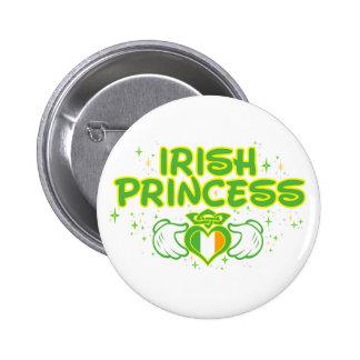 The Irish Princess Button