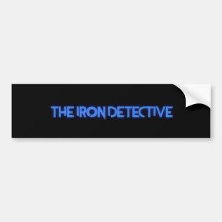 The Iron Detective Bumper Sticker