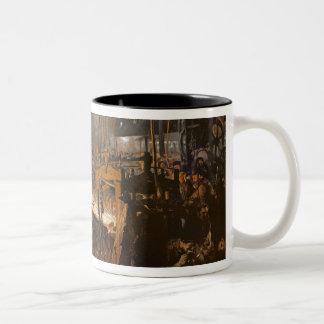 The Iron-Rolling Mill , 1875 Two-Tone Coffee Mug