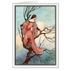 The Iron Stove by Warwick Goble Card