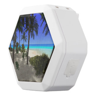 The island white boombot rex bluetooth speaker