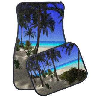 The island car mat