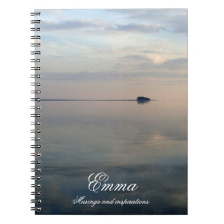 The Island, musings and inspirations personalised Notebook