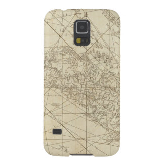 The Island of Cuba with part of the Bahama Banks Case For Galaxy S5