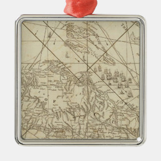The Island of Cuba with part of the Bahama Banks Christmas Ornament