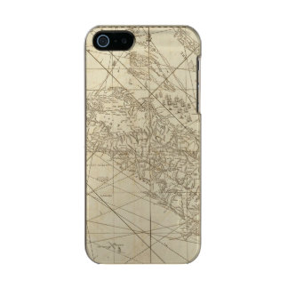 The Island of Cuba with part of the Bahama Banks Incipio Feather® Shine iPhone 5 Case