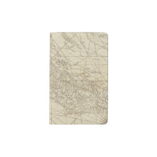 The Island of Cuba with part of the Bahama Banks Pocket Moleskine Notebook