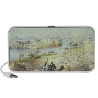 The Island of Philae, looking down the River Nile Portable Speaker