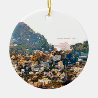 The Isle of Capri Christmas Ornament