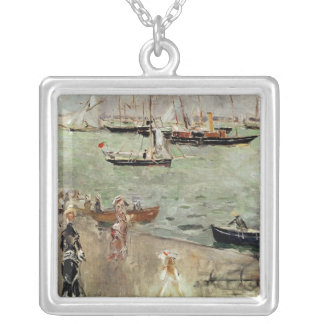 The Isle of Wight, 1875 Silver Plated Necklace
