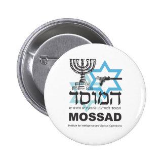 The Israeli Mossad Agency 6 Cm Round Badge