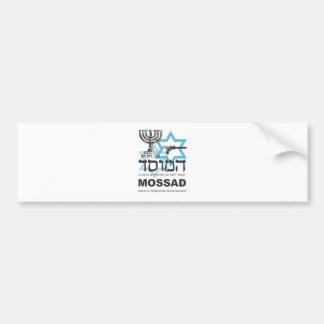 The Israeli Mossad Agency Car Bumper Sticker