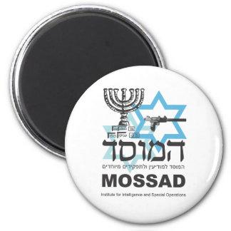 The Israeli Mossad Agency 6 Cm Round Magnet